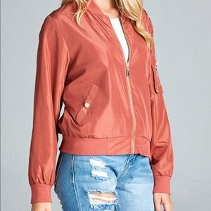 Jackets & Blazers - Rose' Bomber Jacket